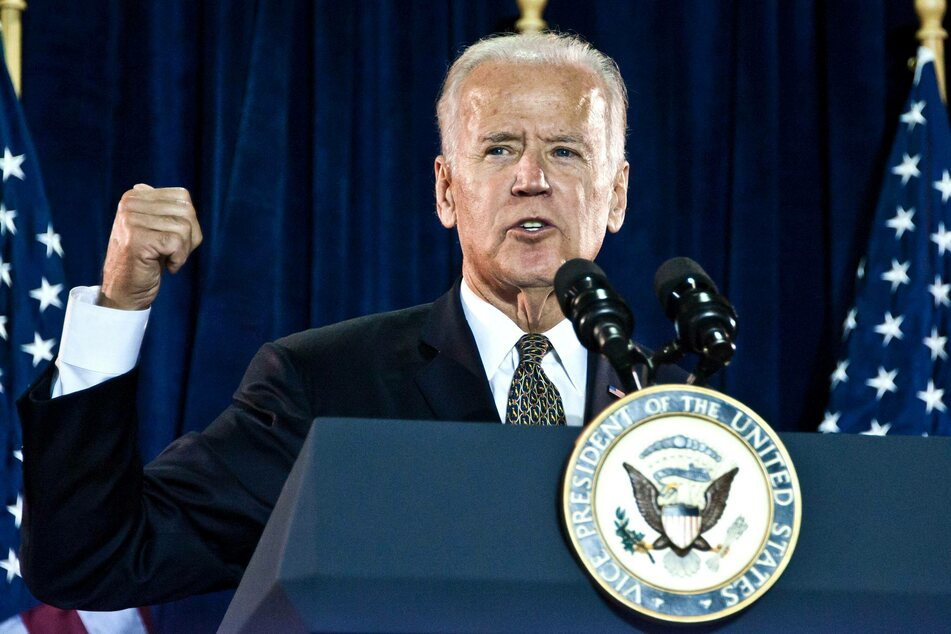 Which stars want Biden to be their Commander and Chief?