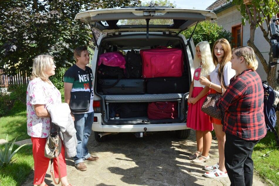 Der gemeinsame Ausflug nach Budapest wurde zum Reinfall, vor allem für die blonde Francine.