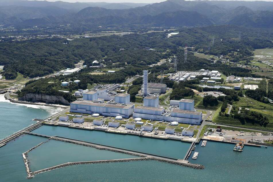 The nuclear power plant in Fukushima, Japan.