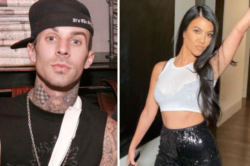 Travis (l.) has dropped a new wellness brand, while girlfriend Kourtney (r.) is also in the industry.