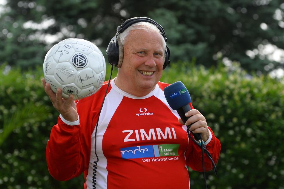 Das Herz des Sportreporters und Ex-Stadionsprechers Gert Zimmermann (†69) gehörte Dynamo.
