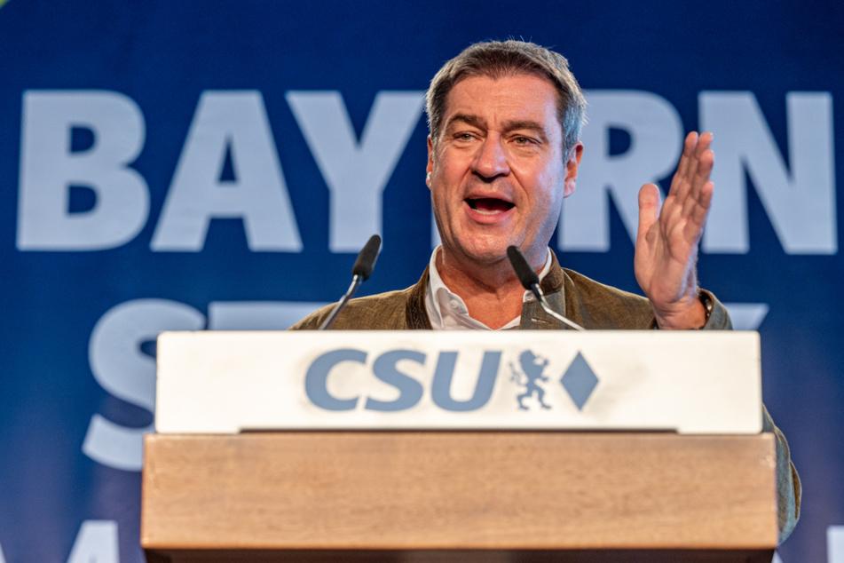 Markus Söder soll auf den CSU-Parteitag als Chef wiedergewählt werden.