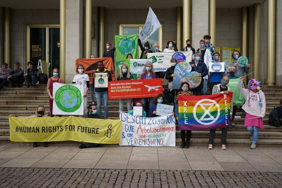 20 verschiedene Klimagruppen haben sich zu einem Bündnis zusammengeschlossen.