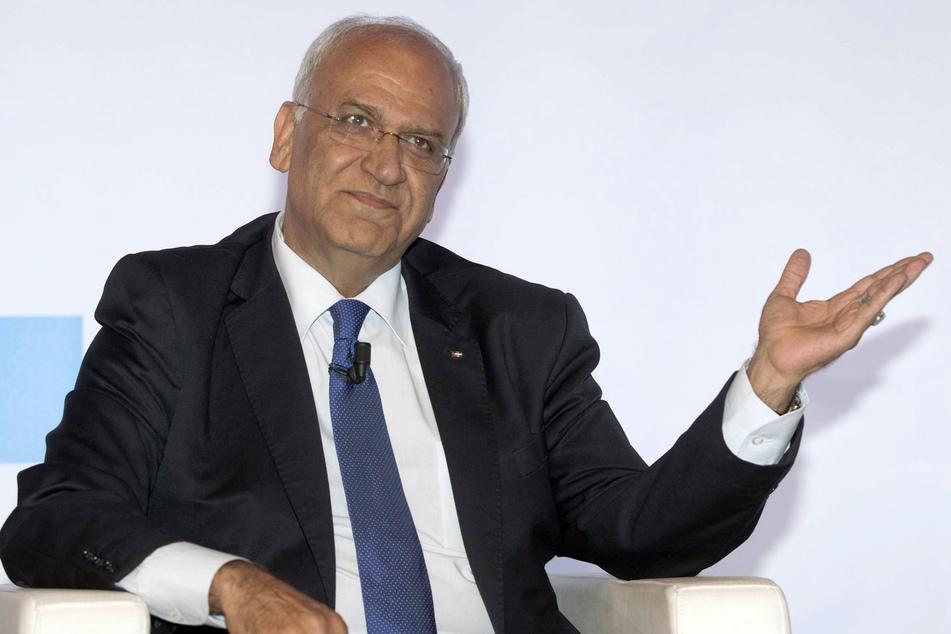 Der palästinensische Chefunterhändler Saeb Ereka ist mit dem Coronavirus infiziert.