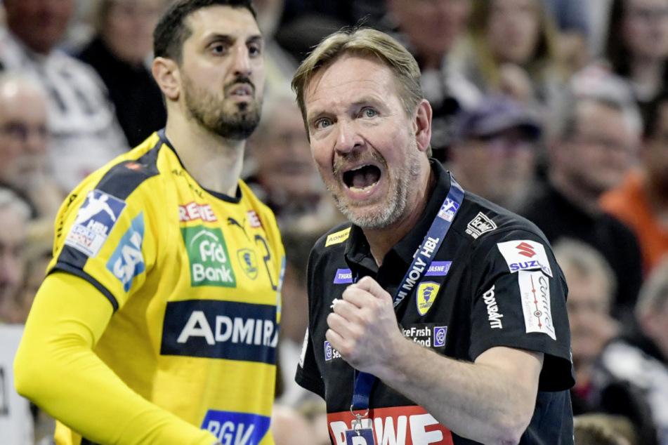 Trainer Martin Schwalb (57). (Archivbild)