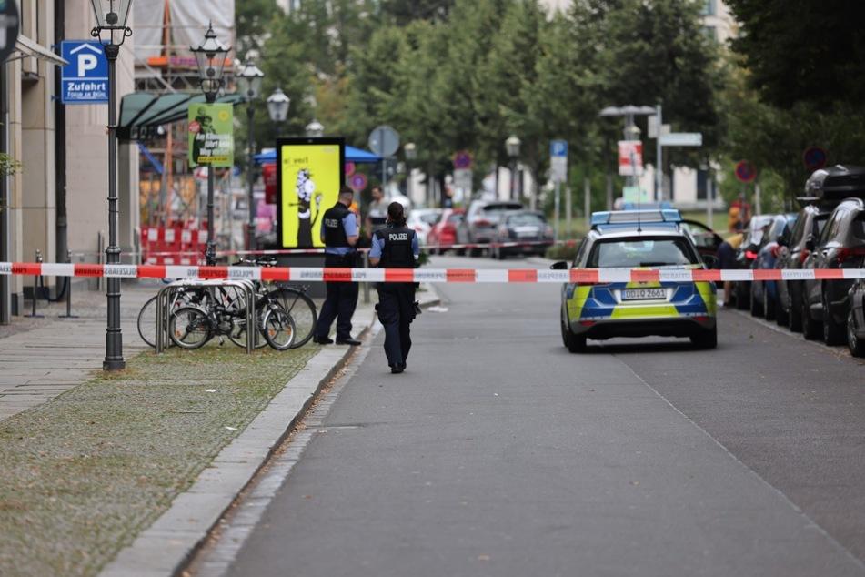 Während der Ermittlungen ist der Tatort weiträumig abgesperrt worden.