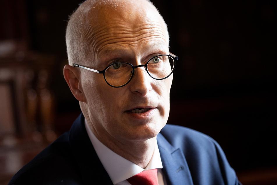 Peter Tschentscher (SPD), Erster Bürgermeister in Hamburg.