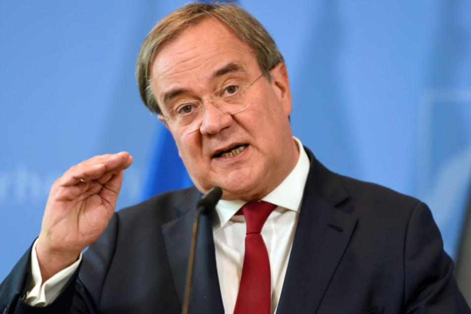 Der nordrhein-westfälische Ministerpräsident Armin Laschet (59, CDU).