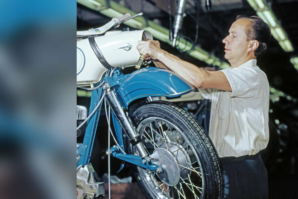 Gut 2,5 Millionen Motorräder wurden bei MZ gebaut.