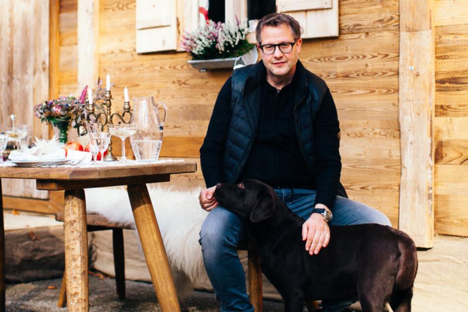 Die Küche ist das Revier von Sternekoch Stefan Hermann. Sein Hund hat da allerdings keinen Zutritt.