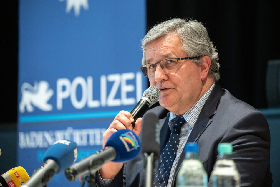 Siegfried Kollmar, Leiter der Kriminalpolizei, am Donnerstag.
