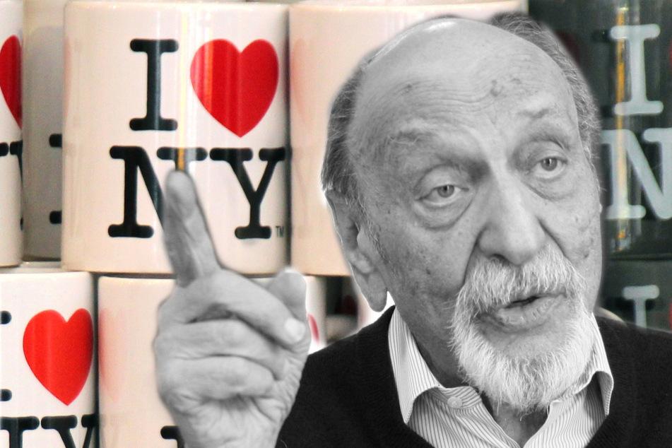 """Erfinder des """"I love New York""""-Logos: US-Designer Glaser ist tot!"""