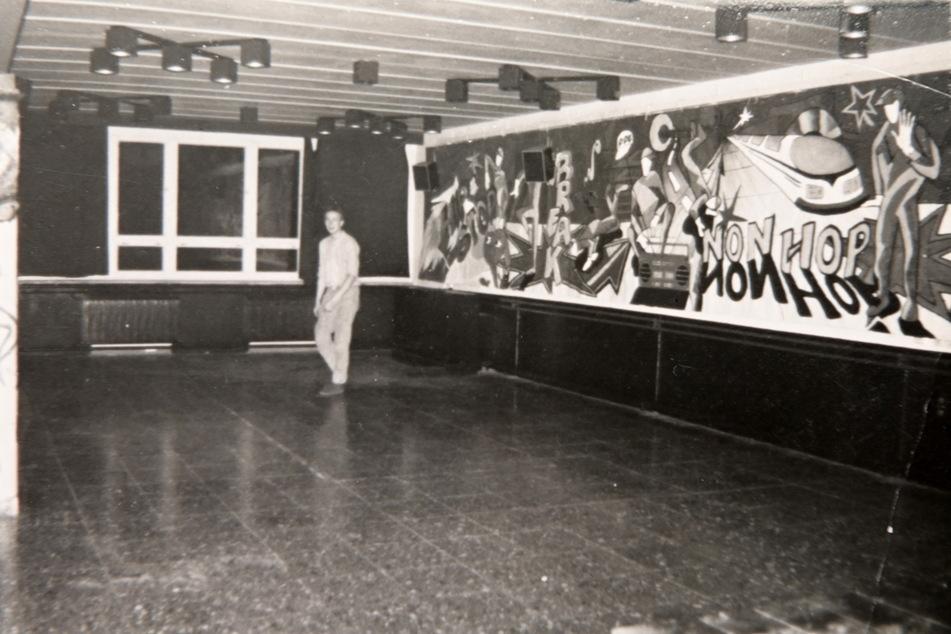 """Als das """"B-Plan"""" noch """"Panorama"""" hieß: das Rap-Event """"Hip Stop Non Hop"""", kurz vor der Wende."""