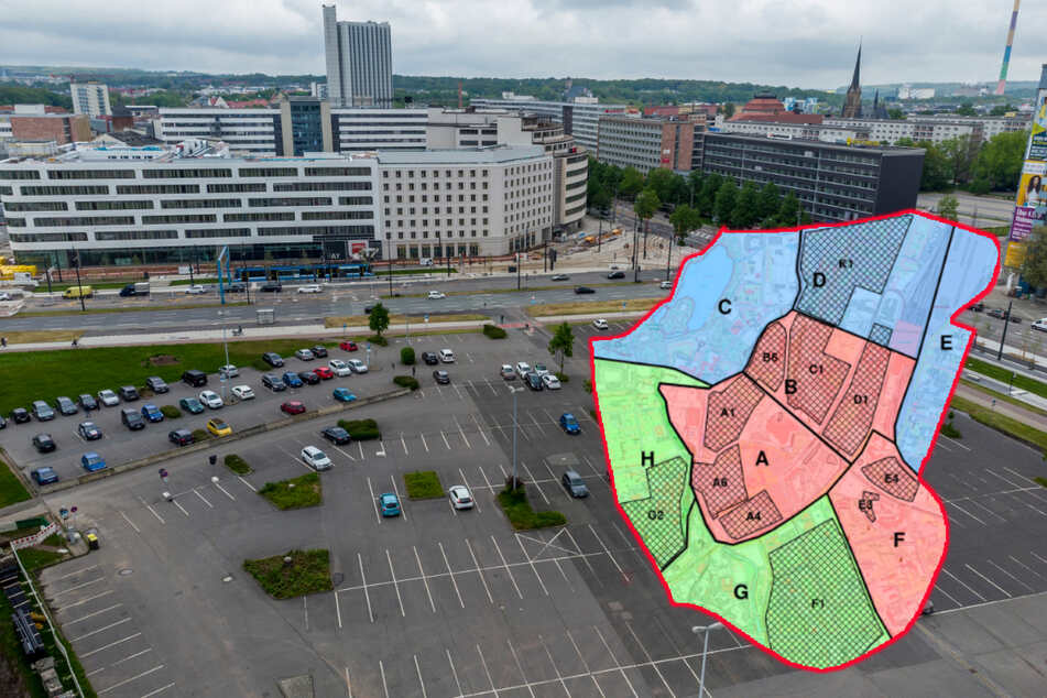 Chemnitz: Kostenlose Parkflächen verschwinden: Ab morgen wird in der Chemnitzer City abkassiert