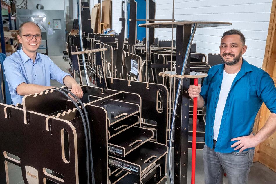 Beste Neugründung! Chemnitzer Maschinenbauer schaffen es aufs Treppchen