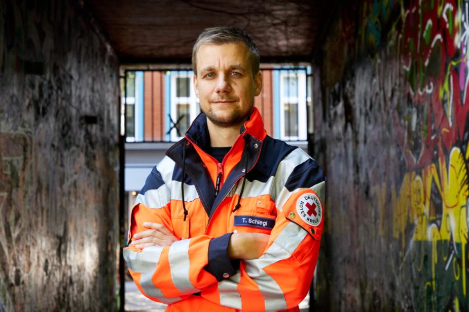 Das ist die neue Berufsbekleidung von Tobias Schlegl (42).