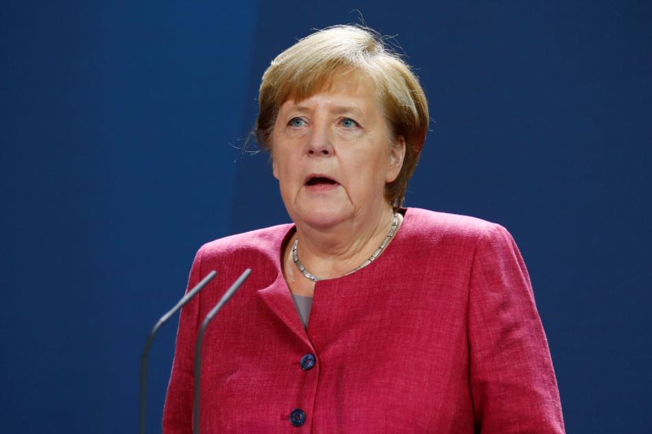 Kanzlerin Angela Merkel (66, CDU) am Freitag.