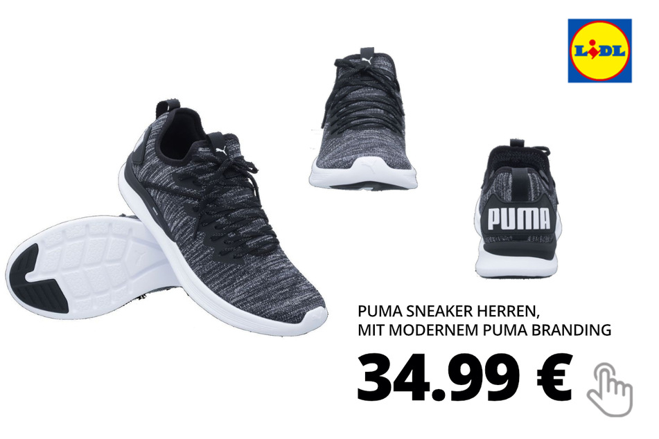 Puma Sneaker Herren, mit modernem PUMA Branding
