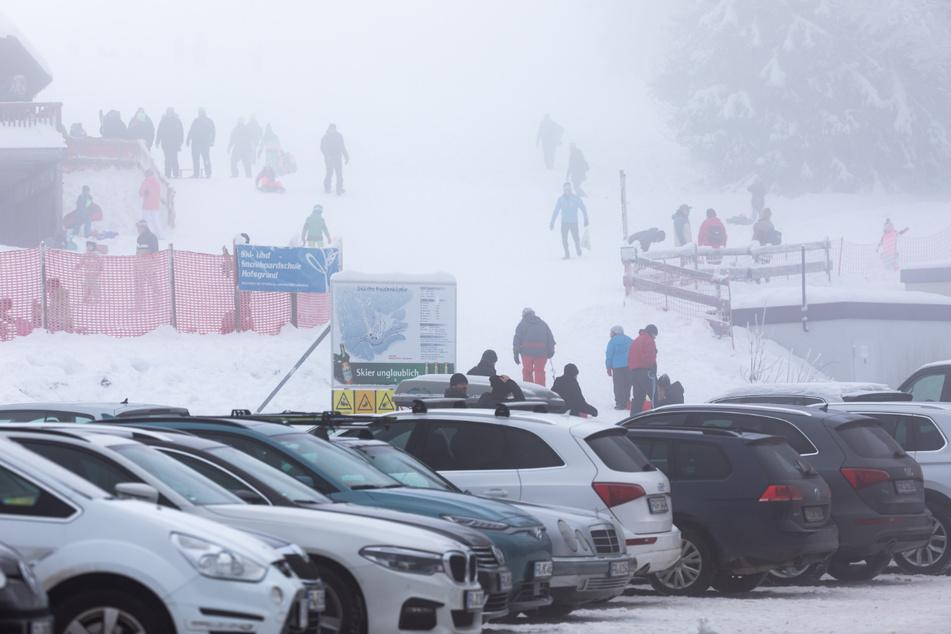 In den vergangenen Tagen hatte es Besucherstürme auf Freizeitgebiete gegeben, wie hier in Oberried.