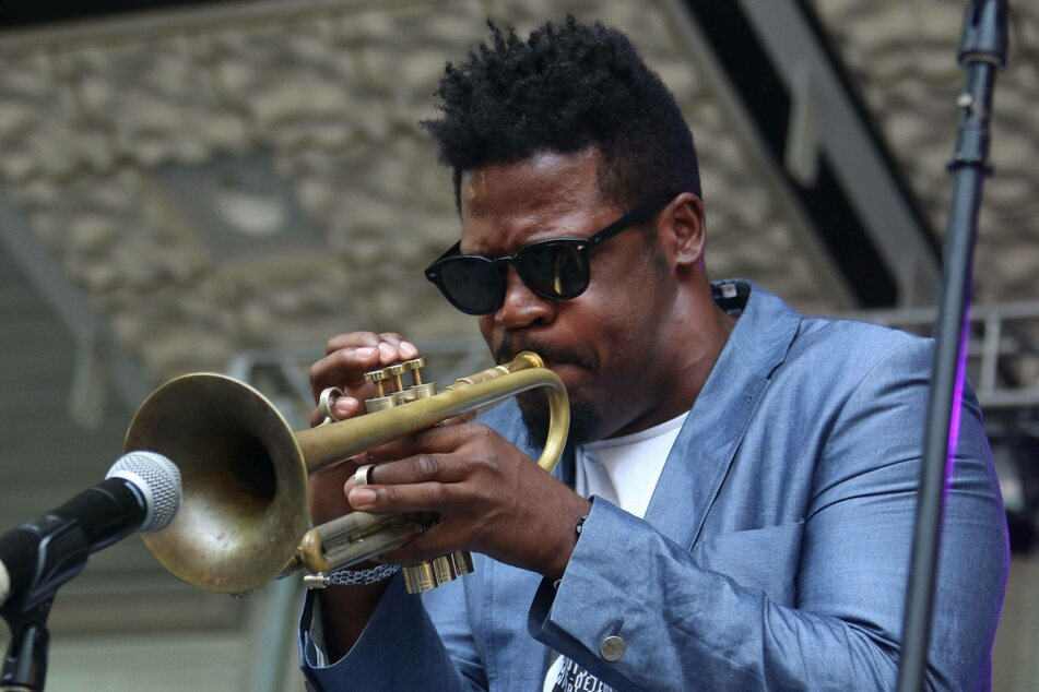 The acclaimed jazz trumpet player Keyon Harrold has played on stage with with top artists, including Beyoncé and Jay-Z.
