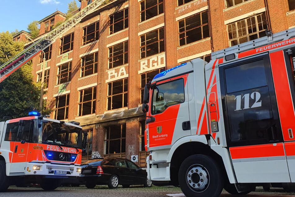 Die Feuerwehr rückte in die Theodor-Neubauer-Straße an.