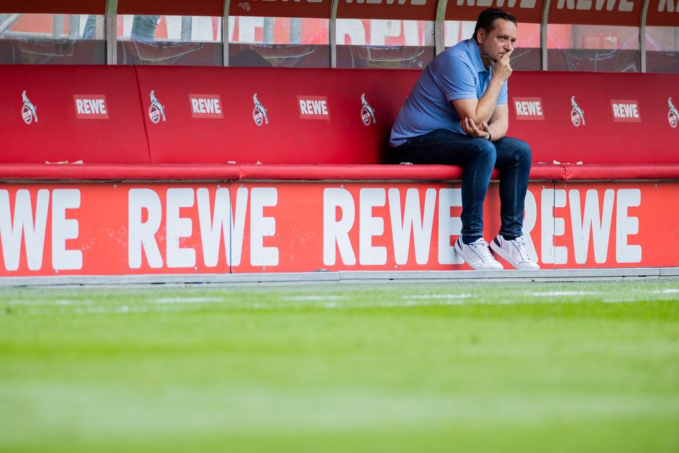Das Gesicht von Kölns Sportchef Horst Heldt sprach Bände.