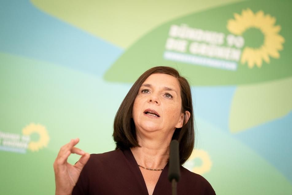 Katrin Göring-Eckardt, Fraktionsvorsitzende von Bündnis 90/Die Grünen.