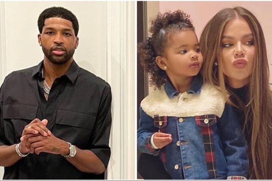 Khloé Kardashian and Tristan Thompson reunite for family occasion one month after split