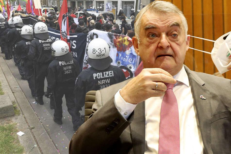Nach umstrittenen Polizeieinsatz bei Düsseldorfer Demo: Reul räumt Fehler ein!