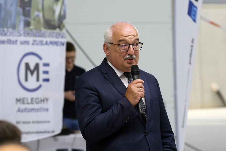 Stolz auf die wirtschaftliche Stärke der Region: Bürgermeister Steffen Ludwig (62, parteilos). Fotos: Ralph Köhler/Pro Picture