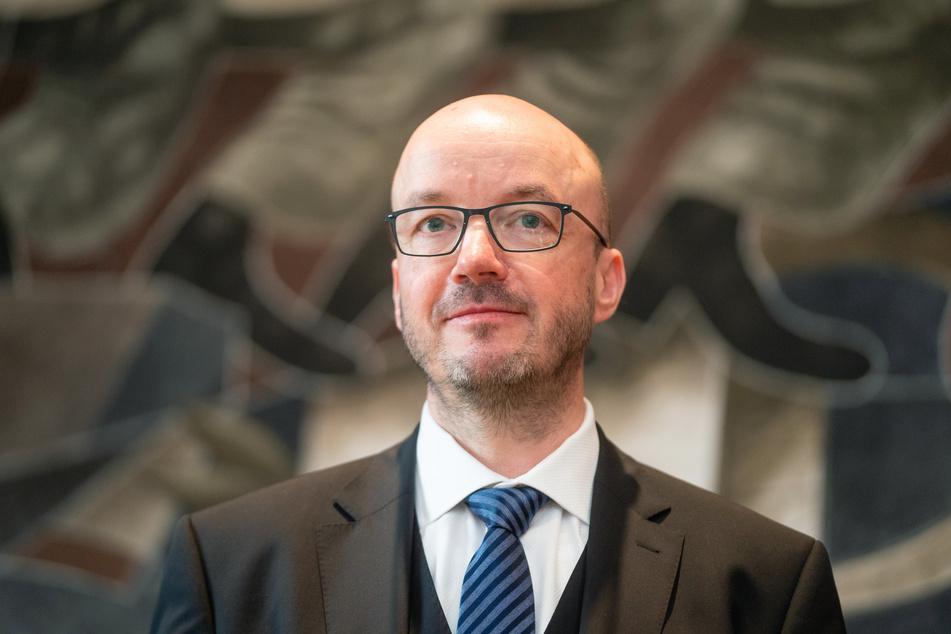 Landesbischof Tobias Bilz (55).