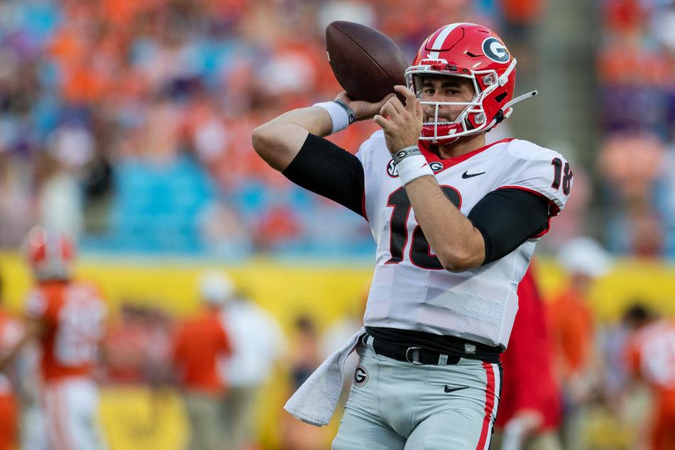 Georgia Bulldogs quarterback JT Daniels threw two touchdowns in his team's big blowout win over Vanderbilt on Saturday.