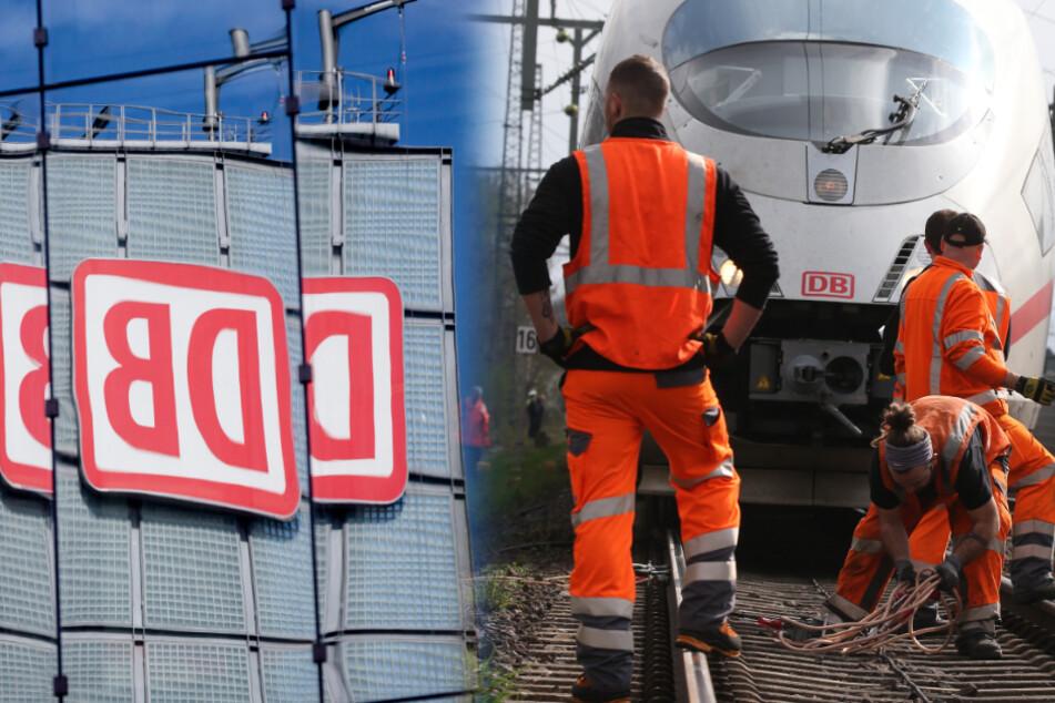 Die Deutsche Bahn verkündet trotz Corona-Krise zahlreiche Neueinstellungen. (Bildmontage)