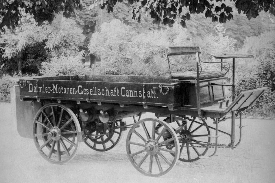 So sah der erste Daimler-Lkw vor 125 Jahren aus und das ist daraus geworden