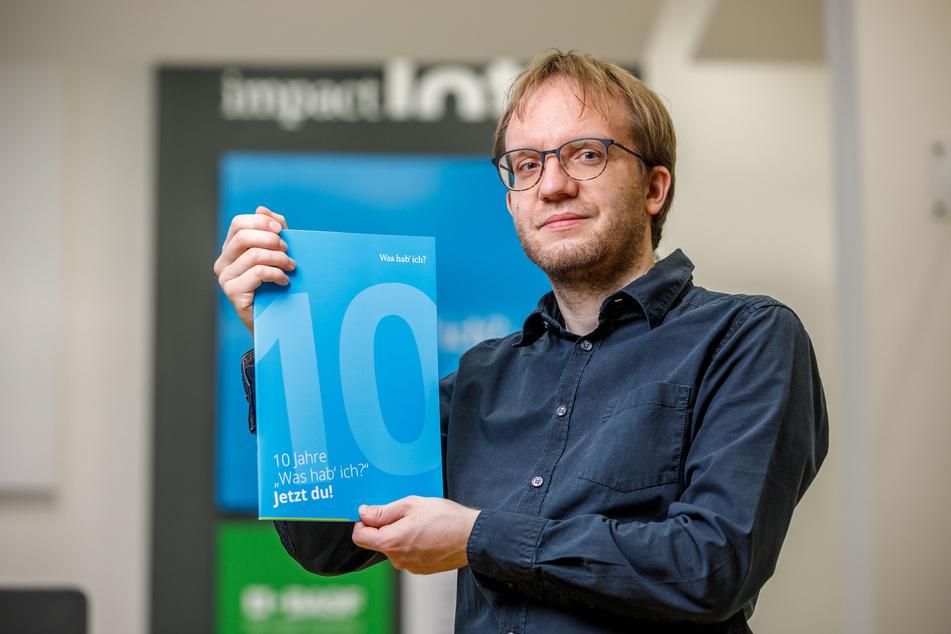 """Arztsprech-Deutsch: Ansgar Jonietz (36), Chef von """"Was hab´ ich?"""", übersetzt das Fachchinesisch der Mediziner."""