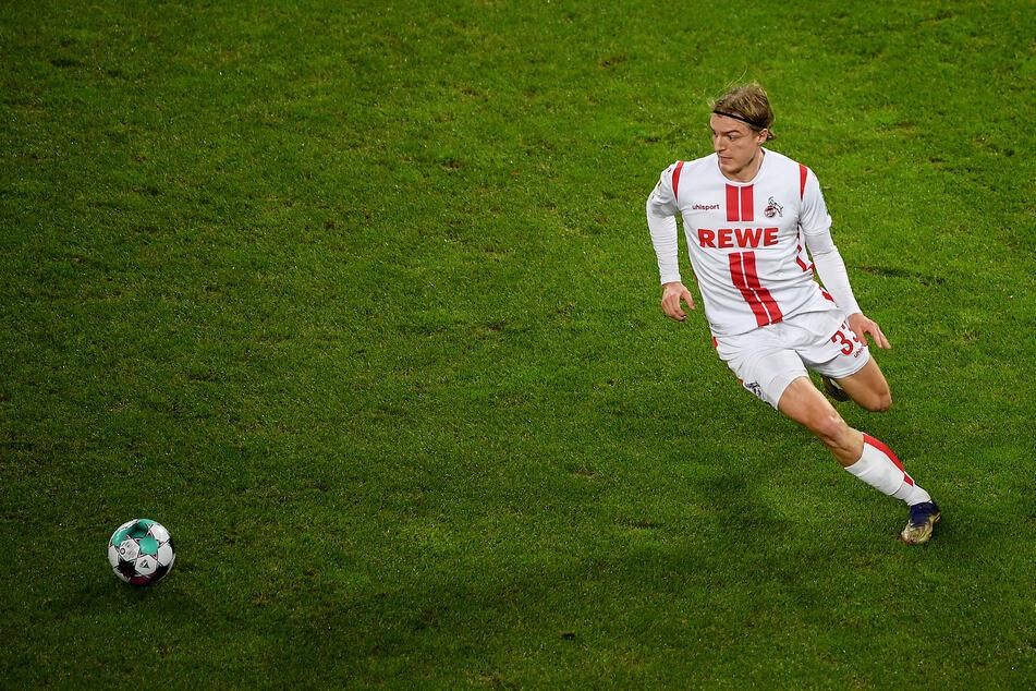 Sebastiaan Bornauw (21) kann nach seiner Operation am Rücken wieder mit dem 1. FC Köln trainieren. (Archivbild)