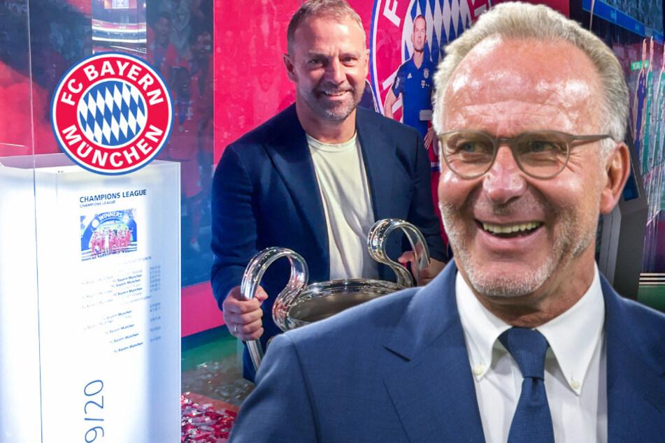"""""""Glücksfall für FC Bayern"""": Karl-Heinz Rummenigge spricht über die Bedeutung von Coach Hansi Flick"""