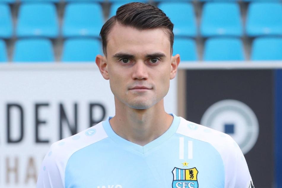 CFC-Spieler Lukas Knechtel kann laut Trainer Daniel Berlinski kommende Woche ins Mannschaftstraining zurückkehren.