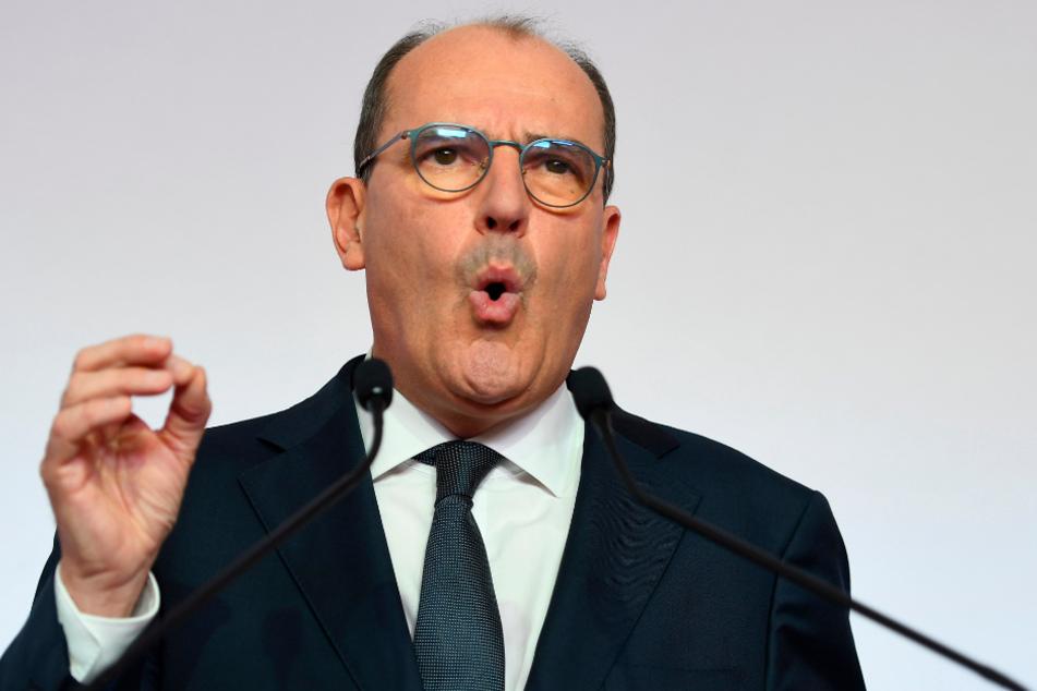 Frankreichs Premier Jean Castex (55).