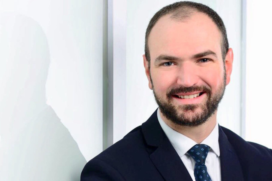 """Georg Grams (35) ist der für Chemnitz zuständige Regionalmanager von """"TIER Operations Germany""""."""