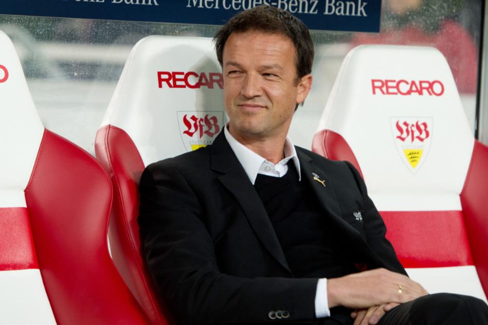 Stuttgart, 2014: Der damalige VfB-Sportvorstand Fredi Bobic in der Mercedes-Benz Arena.