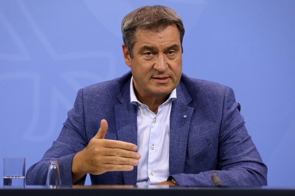 Markus Söder (54, CSU), Ministerpräsident von Bayern.
