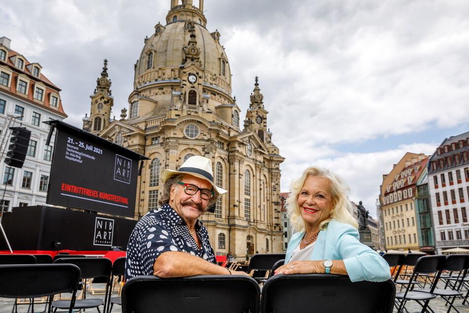 Karl-Heinz Bellmann (74) und Dorit Gäbler (78) wollen aus ihren Talk-Gästen auch Persönliches herauskitzeln.