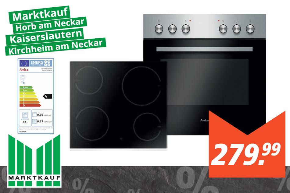 Amica Einbauherd-Set EHC933041E für 279,99 Euro