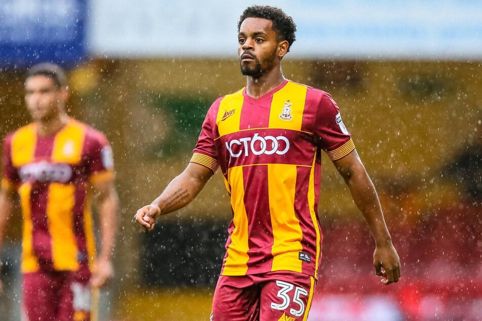 Tyrell Robinson (23) stand zuletzt bis Februar 2020 für Bradford City auf dem Platz, seitdem war er vereinslos.