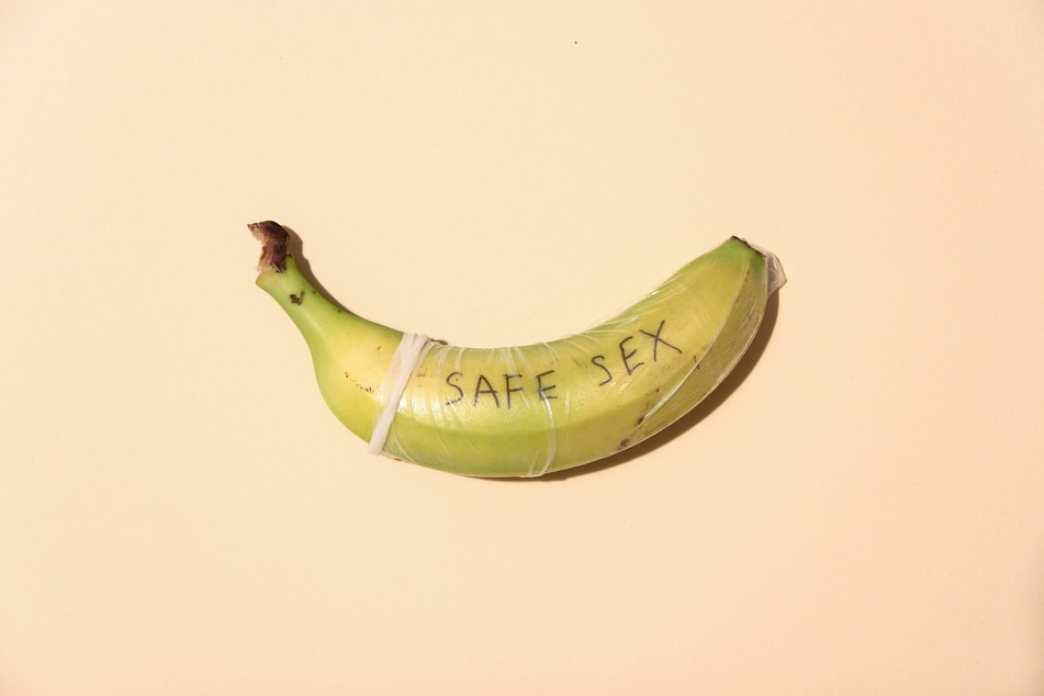 There were no banana-flavored condoms in the middle ages.