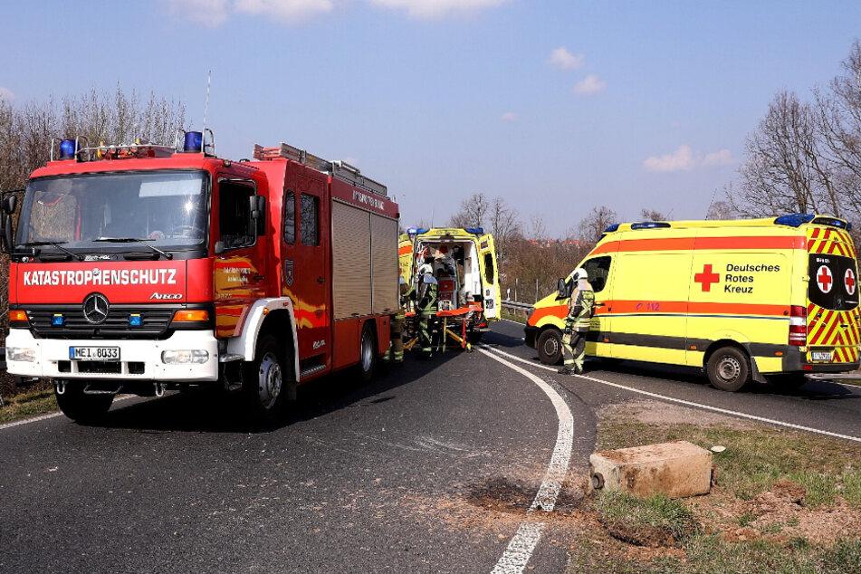 Die Rettungskräfte waren schnell vor Ort.