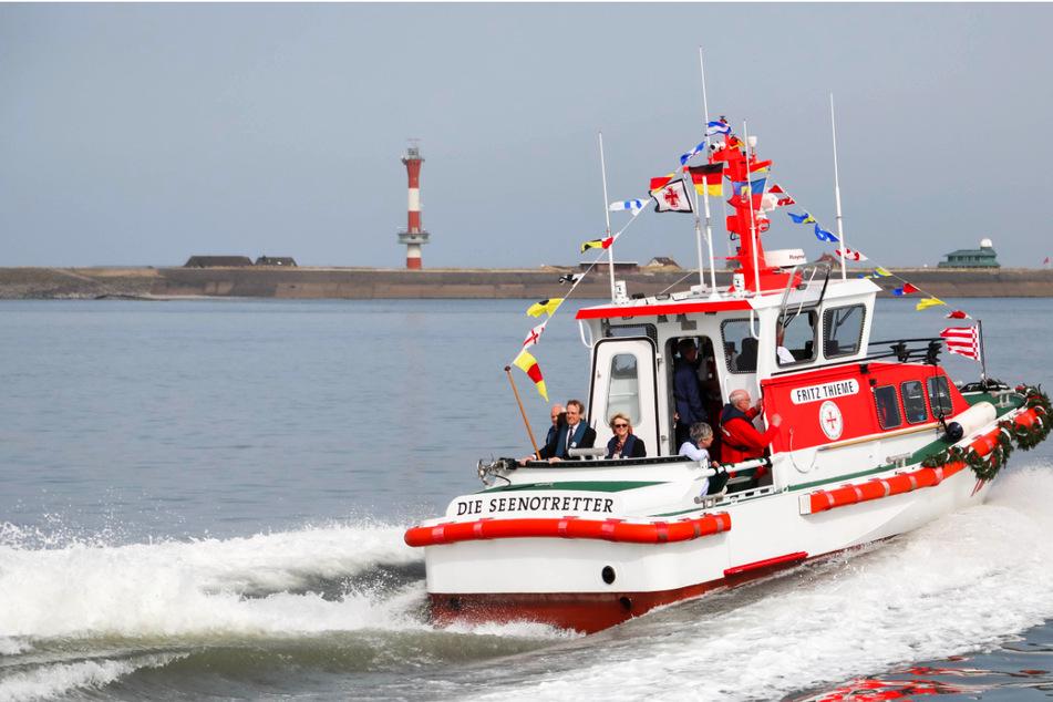 """Am 25. Juli lädt die Deutsche Gesellschaft zur Rettung Schiffbrüchiger (DGzRS) zum """"Tag der Seenotretter"""" ein. (Symbolfoto)"""