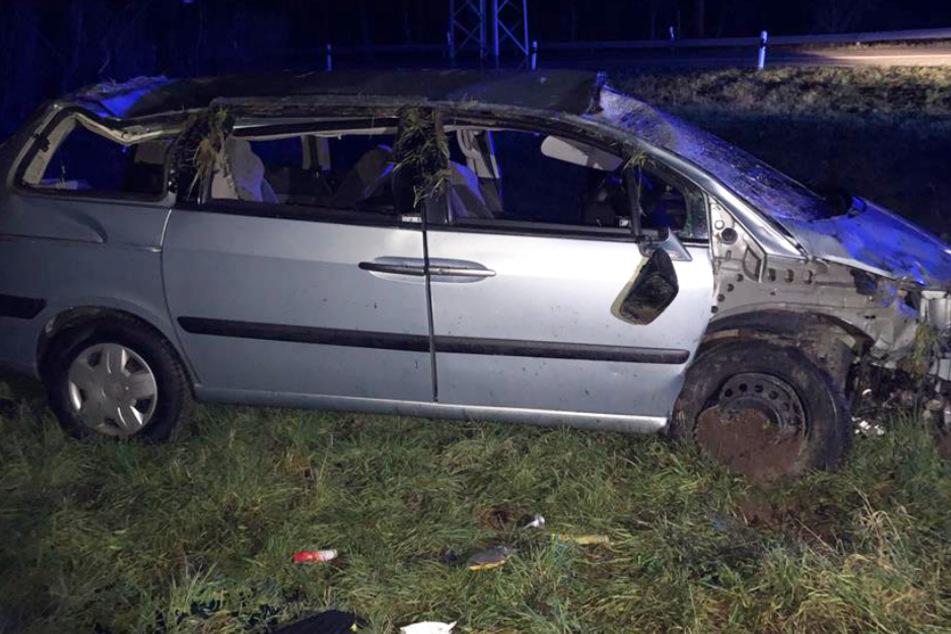 Unfall bei Worms: Betrunkener Fahrer flieht, Polizei steht vor Rätsel