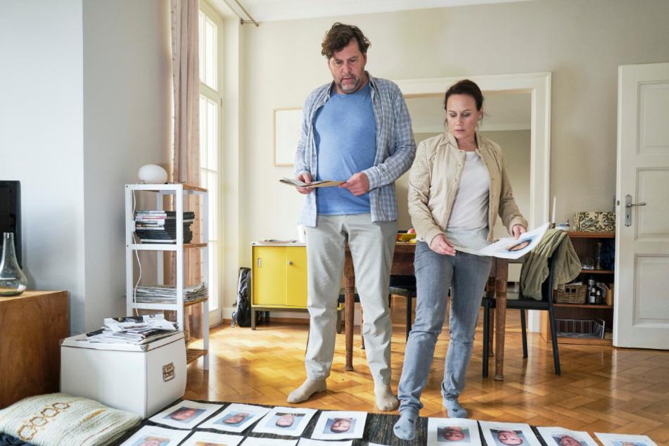 """Friedemann Berg (Hans-Jochen Wagner) und Franziska Tobler (Eva Löbau) in einer Szene von """"Tatort: Rebland""""."""